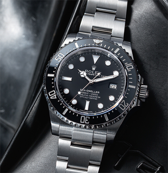 Deep Dive Redux Testing The Rolex Sea Dweller 4000 Watchtime