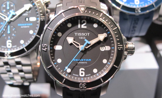 Tissot Seastar 1000 - original - Baselworld 2011