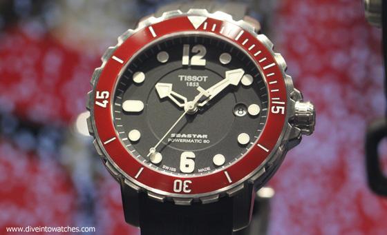 Tissot Seastar 1000 - redesigned - Baselworld 2014