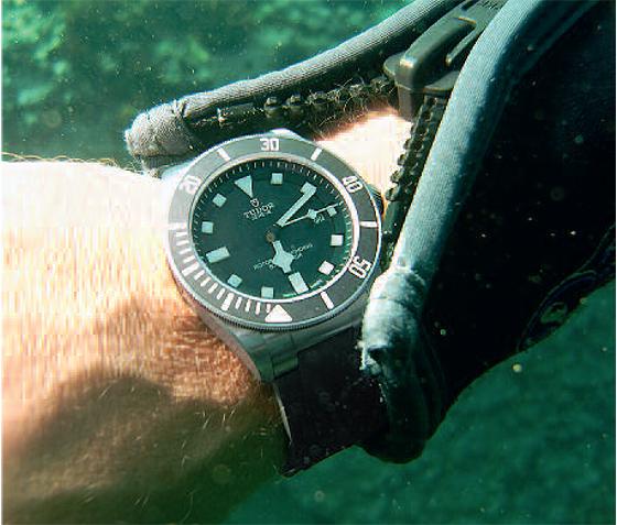 Tudor Pelagos on wrist