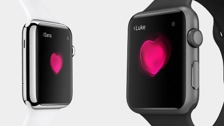 Apple Watch - heartbeat