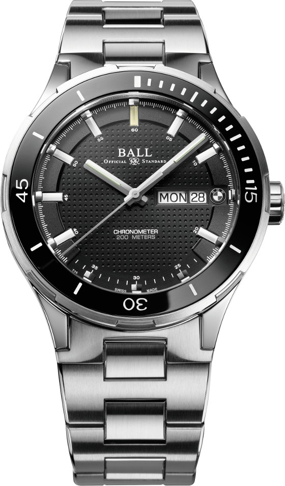 Ball Watch BMW TimeTrekker bracelet black 560