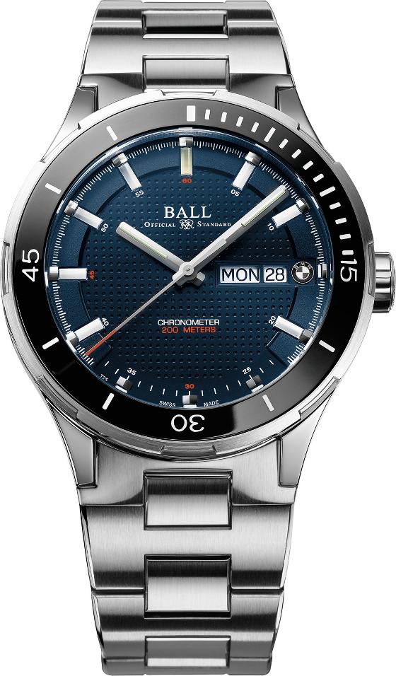 Ball Watch BMW TimeTrekker bracelet blue 560