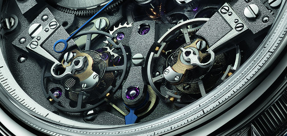 Breguet Tradition 7077 escapements CU 560