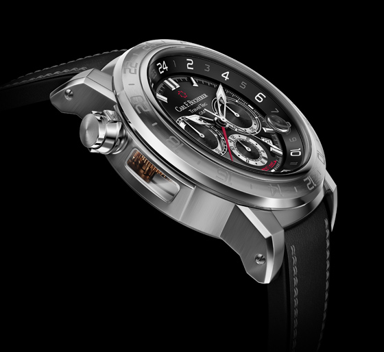 Carl F. Bucherer Patravi TravelTec II - side