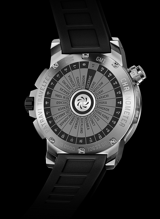 Carl F. Bucherer Patravi TravelTec II - back