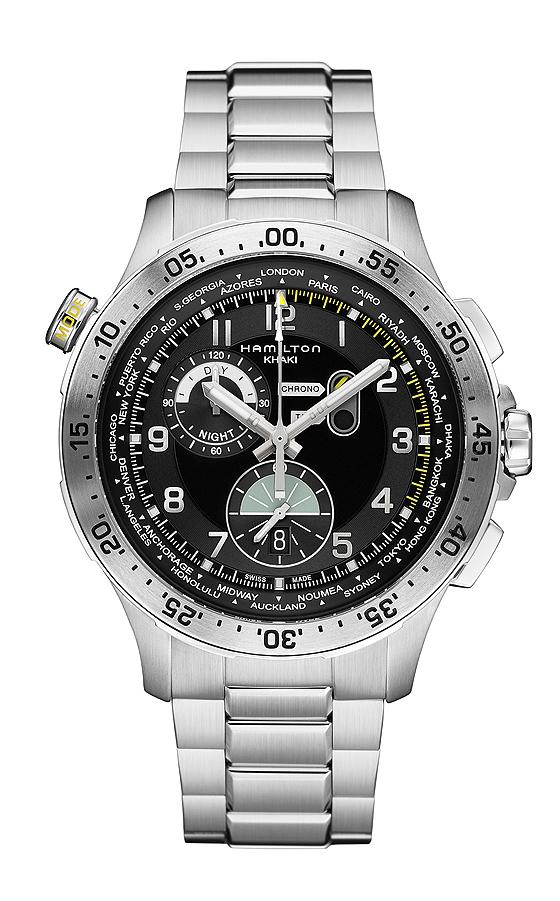 Hamilton Chrono Worldtimer - bracelet