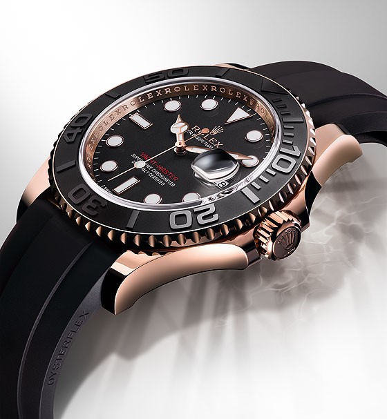 Rolex Yacht-Master - side angle