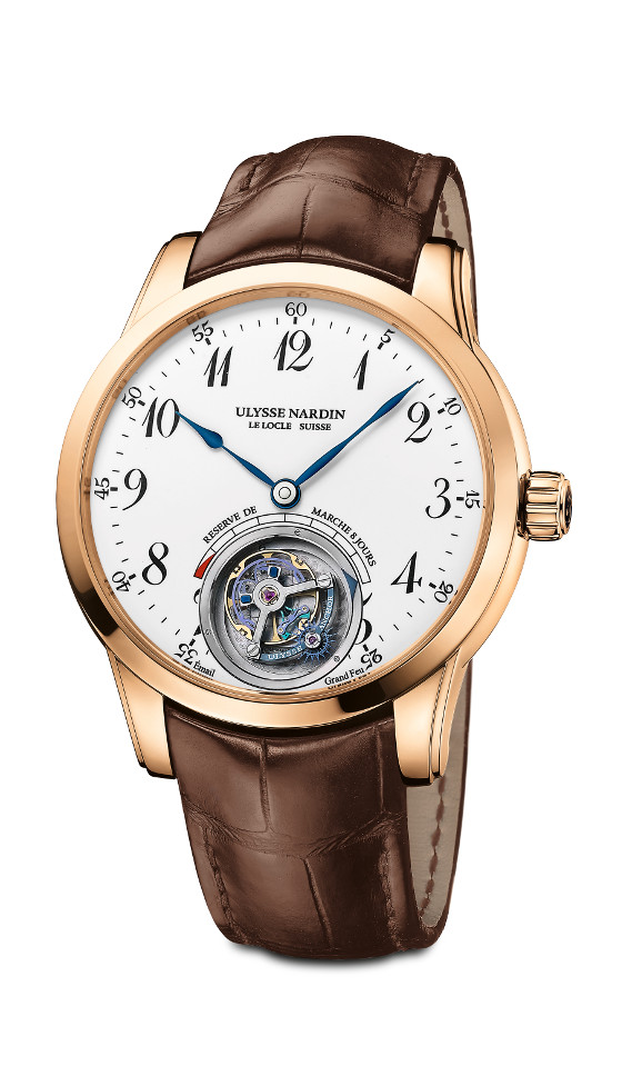 UN Ulysse Anchor Tourbillon rg 560