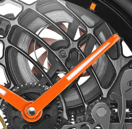 Aerowatch Orange Tornado mainspring CU 560