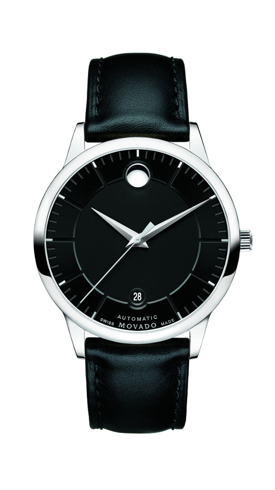 Movado's new 1881 Automatic Collection Movado-1881-automatic-black-dial-560