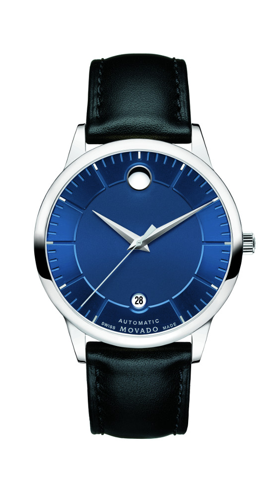 Movado's new 1881 Automatic Collection Movado-1881-automatic-blue-dial-560