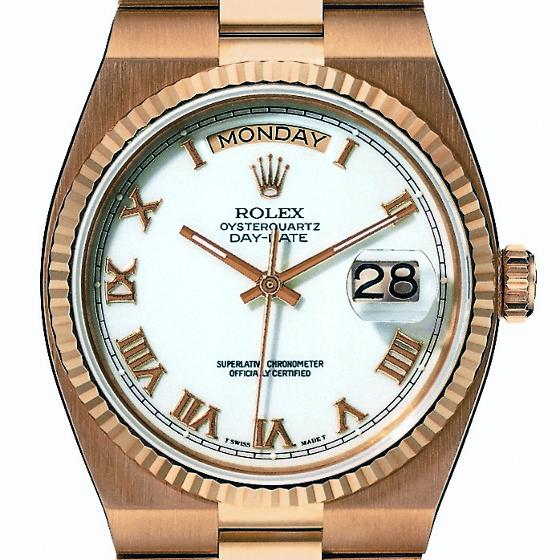 Rolex made just 4,000 Oysterquartz watches per year.