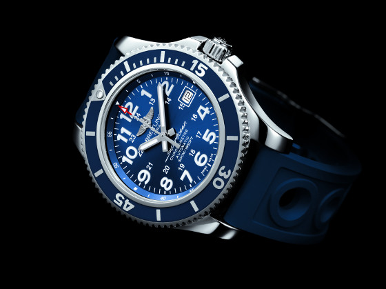 Superocean II 42 blue glamor 560