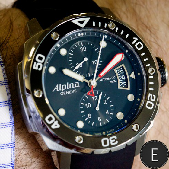Alpina Extreme Diver Chronograph Automatic Mens Watch Men And - Alpina diver watch
