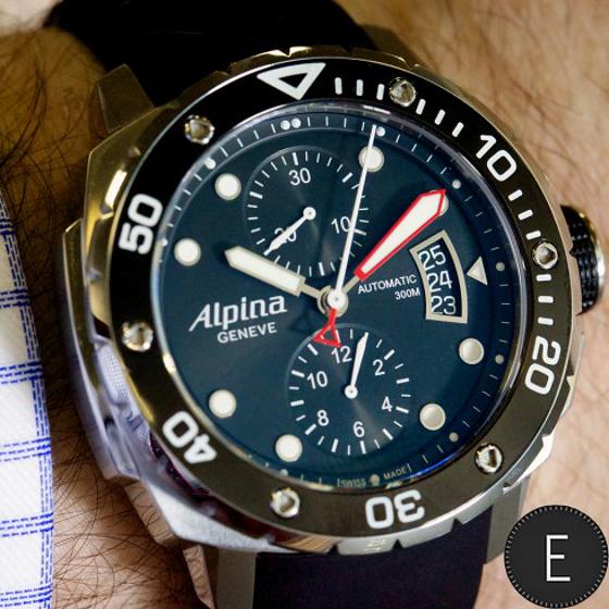 Alpina Extreme Diver Chronograph Automatic Mens Watch Men And - Alpina diver