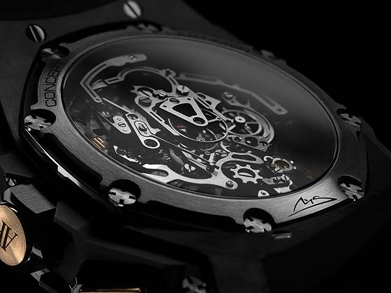 Audemars Piguet Royal oak Concept Laptimer Schumacher - back