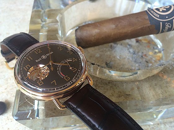 Bell & Ross Vintage WW1 Edicion Limitada - with cigar