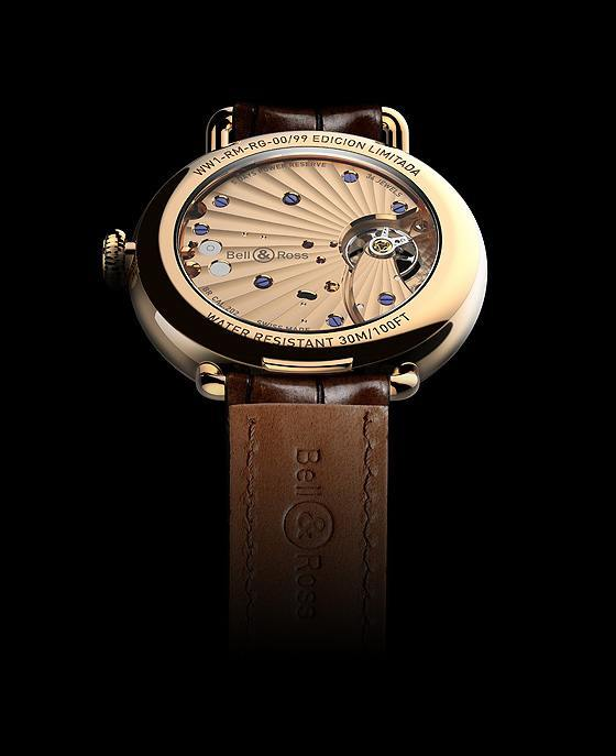 Bell & Ross Vintage WW1 Edicion Limitada - back