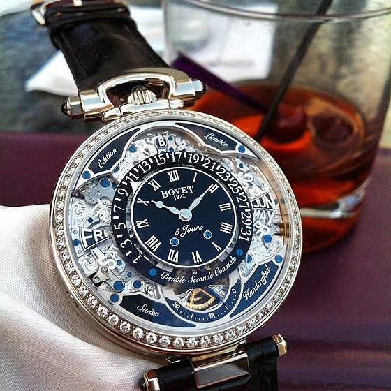 Bovet Virtuoso VII w/glass