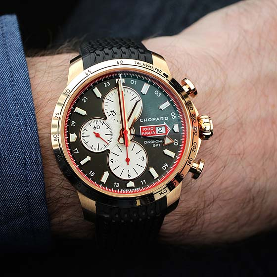 Chopard Mille Miglia Chronograph - rose gold