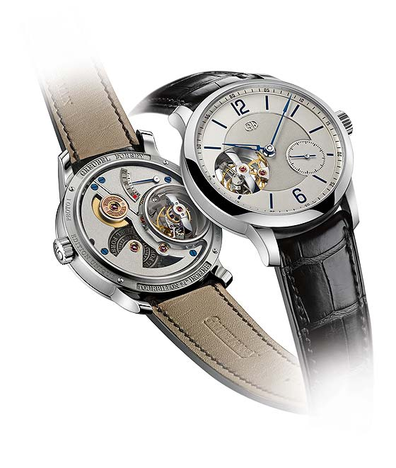 Greubel Forsey Tourbillon 24 Secondes Vision - front-back