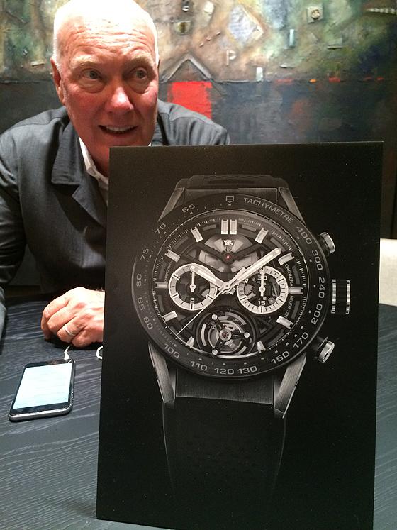 Jean-Claude Biver - TAG Heuer CEO