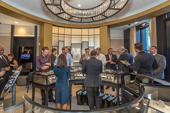 Jaeger-Lecoultre Miami event - crowd