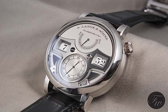 A. Lange & Sohne Zeitwerk Minute Repeater - angle