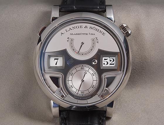 A. Lange & Sohne Zeitwerk Minute Repeater - front