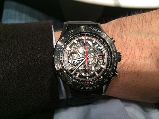 TAG Heuer Carrera - wrist