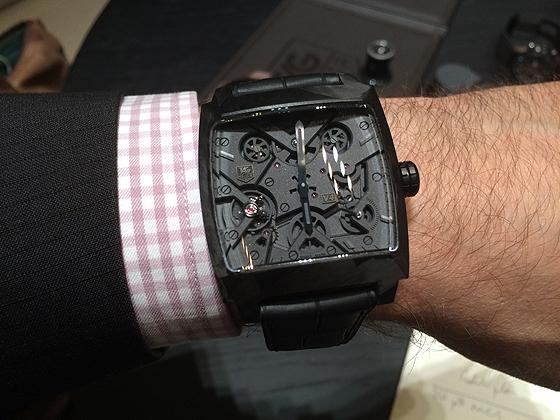 TAG Heuer Monaco V4 - wrist
