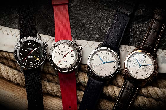 Bremont America's Cup watch collection