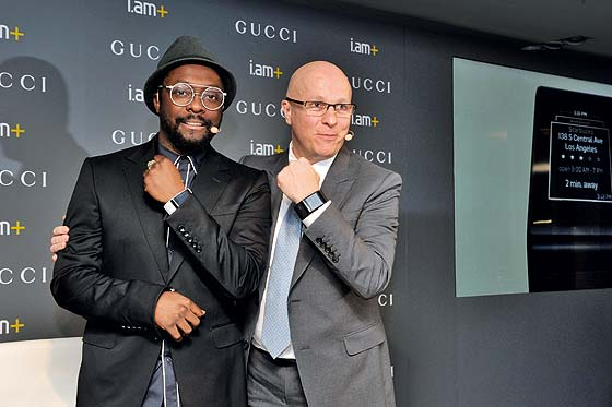 Gucci Smartwatch Press Conference with will.i.am
