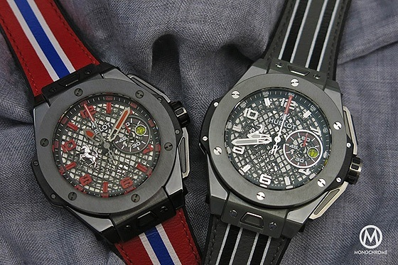 Hublot Big Bang Ferrari Speciale Ceramic - Duo