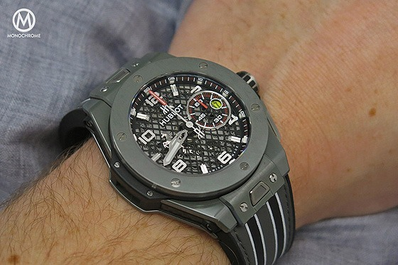 Hublot Big Bang Ferrari Speciale Ceramic - Grey - 1