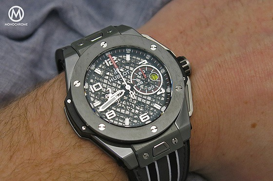 Hublot Big Bang Ferrari Speciale Ceramic - Grey - 2