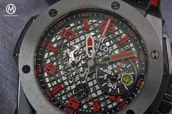 Hublot Big Bang Ferrari Speciale Ceramic - Red - 5