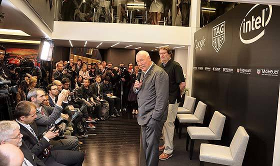 TAG Heuer Smartwatch Press Conference