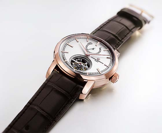 Vacheron Constantin Patrimony Traditionnelle Tourbillon 14 Days - flat