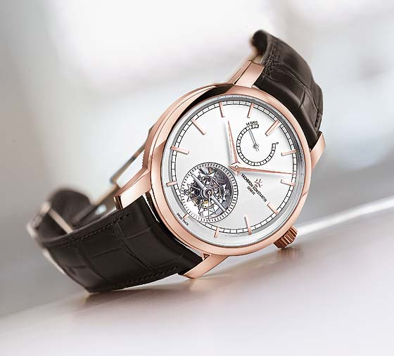 Vacheron Constantin Patrimony Traditionnelle Tourbillon 14 Days - reclining