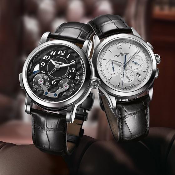 Gentlemen's Wager: Jaeger-LeCoultre Master Chronograph vs. Montblanc Rieussec