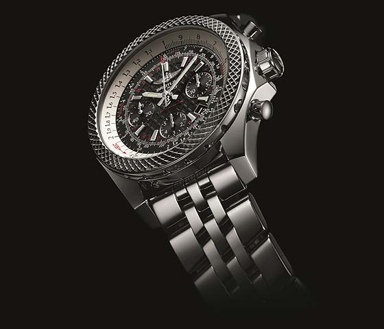 Breitling for Bentley B06S - Black Dial - Angle