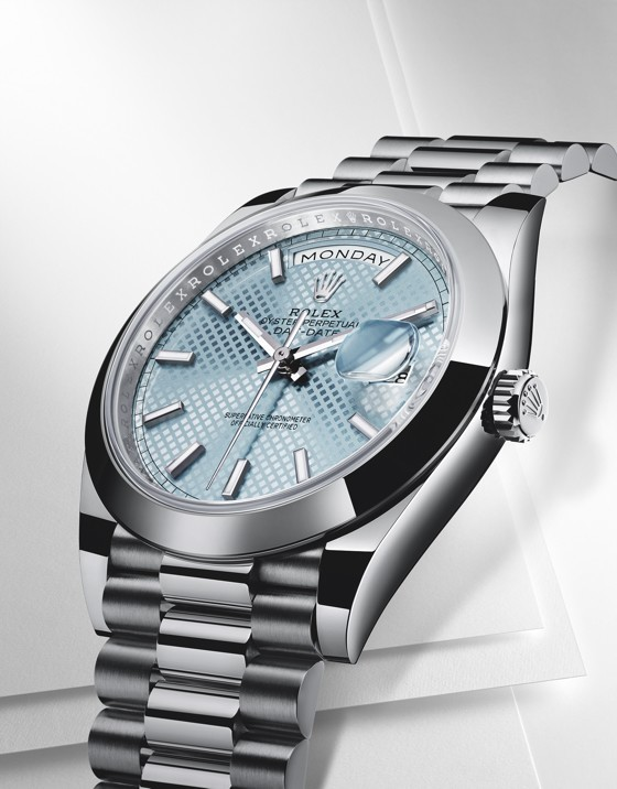best replica Rolex-Day-Date-40-platinum