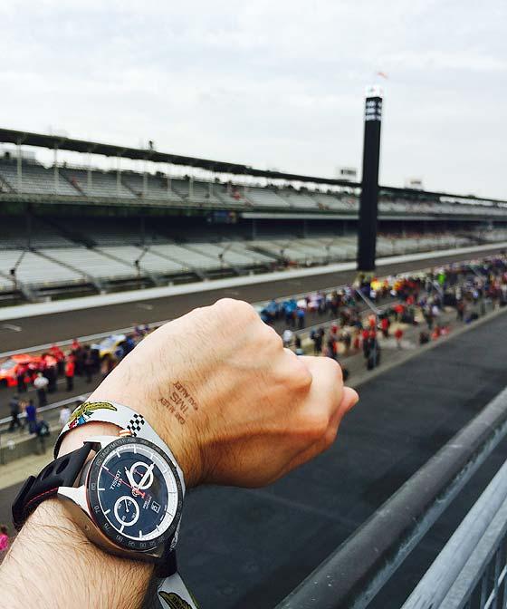 Tissot PRS 516 - IMS - wrist