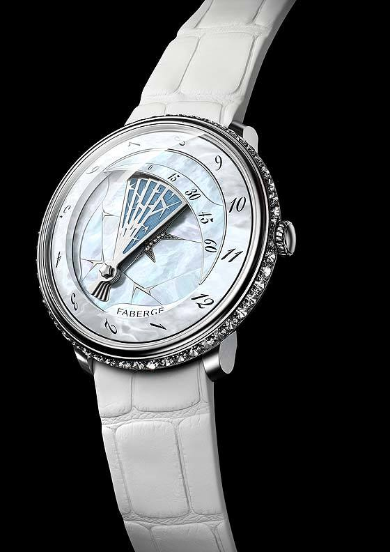 Faberge Lady Compliquee Winter Timepiece