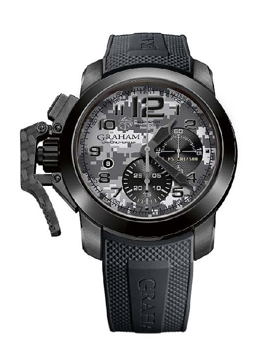 Replica Graham Chronofighter Oversize Navy Seals Foundation - front