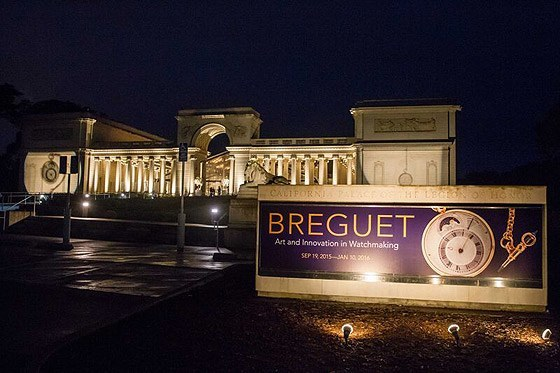 Replica Breguet Exhibit - Legion of Honor - night
