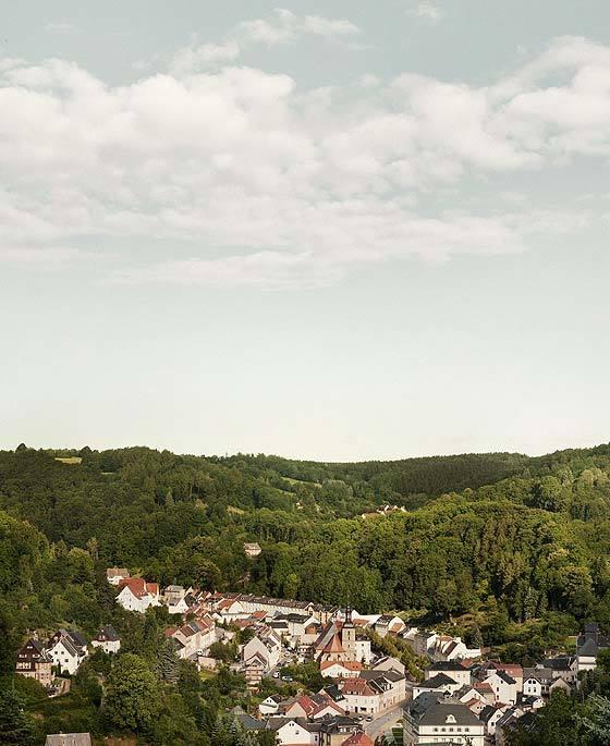Glashutte - aerial view
