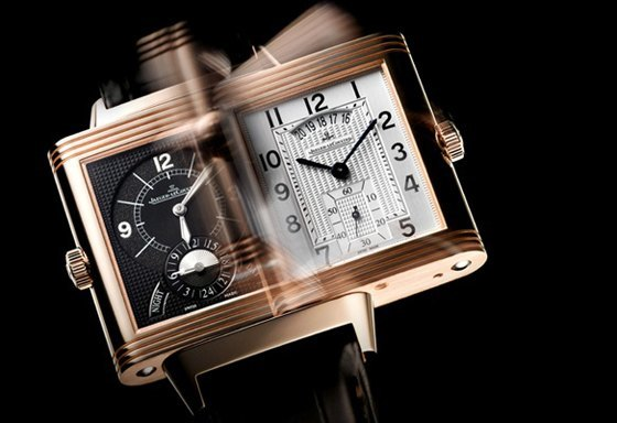 watches reverso lecoultre with tribute gold ultra hands to monochrome thin jaeger the on grande